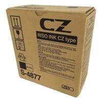 Risograph S-4877, Ink Cartridge Black x 2, CZ100, CZ180- Original