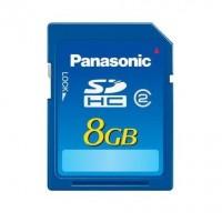 Panasonic RPSDR08GE1A 8Gb Memory Card