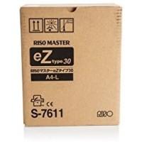 Riso S-7611, EZ Master Type 30 Twin Pack, EZ200, EZ201, EZ220, EZ230- Original