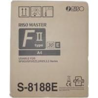 Riso S8188E, A4 Masters Twin Pack, SF5030, SF5050- Original