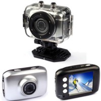 Pro HD Helmet Sport DV 1280 x 720,  Digital Video Waterproof Camera/ Camcorder- Silver