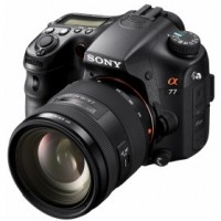 Sony SLT-A77V Black interchangeable lens camera