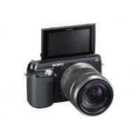 Sony, Alpha NEX-F3, 16.1 MP Digital Camera- Black