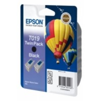 Epson T019 Ink Cartridge - Black Multipack Genuine