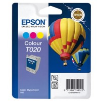 Epson T020 Ink Cartridge - Tri-Colour Genuine