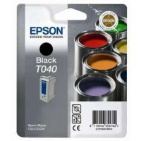 Epson T040 Ink Cartridge - Black Genuine
