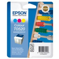 Epson T0520 Ink Cartridge - Tri-Colour Genuine