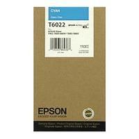 Epson T6022, Ink Cartridge Cyan, Stylus Pro 7800, 7880, 9800, 9880- Original