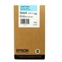 Epson T6025, Ink Cartridge Light Cyan, Stylus Pro 7800, 7880, 9800, 9880- Original
