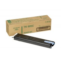 Kyocera Mita TK-805C, Toner Cartridge- Cyan, KM C850- Genuine