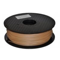 Wanhao 3D Filament PLA Brown, 3mm, 1kg