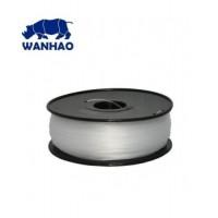 Wanhao 3D Filament PLA Clear, 3mm, 1kg