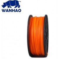 Wanhao 3D Filament PLA Orange, 3mm, 1kg