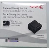 Xerox 108R00949, 4 Black Solid Ink Metered Black, ColorQube 8570, 8580- Original