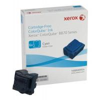 Xerox 108R00954 Solid Ink Sticks, ColorQube 8870 - 6X Cyan Genuine