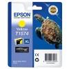 Epson T1574, Ink Cartridge Yellow, Stylus Photo R3000- Original