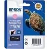 Epson T1576, Ink Cartridge Light Magenta, Stylus Photo R3000- Original