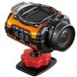 Ricoh Pentax WG-M1, Tough Waterproof Digital Action Camera- Orange
